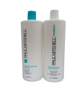 Paul Mitchell Instant Moisture Shampoo and Treatment  Duo 33.8 oz