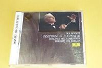 "CD MOZART ""SYMPHONIES N° 29 & 39"" VON KARAJAN / D. GRAMMOPHON, 1991 BON ÉTAT"