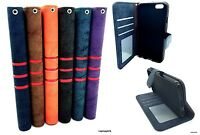 Genuine Real Leather Flip Case Wallet Cover Apple iPhone 6S+ 6 Plus & 6 4.7'' 6S