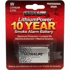 Ultralife U9vl-j Pp3 9v Lithium Battery Lasts up to 10 Years