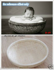 New Creative Photography Prop Handmade Woven Basket for Newborn Baby D-49