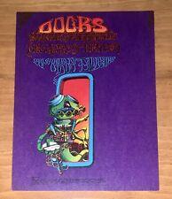 Doors 1967 Handbill/Postcard By Rick Griffin Allman Brothers Family Dog Fdd 18