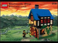 LEGO Castle - Rare Classic - Blacksmith Shop 3739 - Complete w/ Instructions