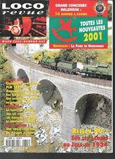 LOCO REVUE N° 645--NOUVEAUTES NUREMBERG 2001/TOMBEREAU PLM 1917 HO