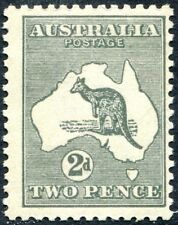AUSTRALIA-1915 2d Grey Sg 35 LIGHTLY MOUNTED MINT V27651