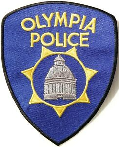 OLYMPIA STATE POLICE PATCH