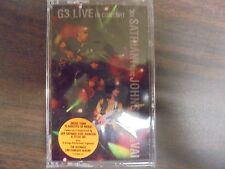 "NEW SEALED ""Joe Satriani"" 63 Live In Concert    Cassette Tape (G)"