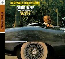 BRAND NEW  SEALED CD DISCCOUNT BASIE - ON MY WAY & SHOUTIN' AGAIN [DIGIPAK]