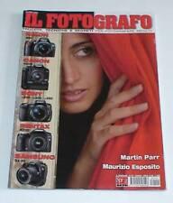 RIVISTA MENSILE IL FOTOGRAFO 191 MARZO 2008 SPREA-MARTIN PARR- MAURIZIO ESPOSITO