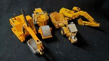 Lot of 4 Ertl/Other Heavy Equipment Vehicles - For Parts or Repair