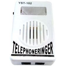 Extra-Loud Phone Telephone  Tone Amplifier Strobe Light Flasher Bell Ringer