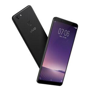 """Vivo V7 PLUS 64GB 5.99"""" 4GB RAM Snapdragon 450 UNLOCKED Mobile Phone / BLACK"""