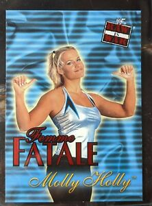 2001 Fleer - WWF Raw is War - Femme Fatale Subset - 7 of 20 FF - Molly Holly