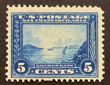 TRAVELSTAMPS: 1913 US Stamps Sc# 399 Golden Gate,Pan-Pac Issue, mint, OG