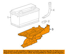 GM OEM-Battery Tray 25796481