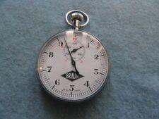 Swiss Made Braun Vintage Mechanical Wind Up Stop Watch Stopwatch