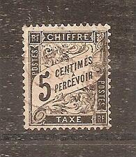 CLASSIQUE TIMBRE FRANCE FRANKREICH TAXE N°14 OBLITERE COTE 35 EUROS