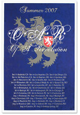 2007 OAR  SUMMER TOUR LOWENBRAU DETROIT LIONS CONCERT POSTER SF SD SEATTLE