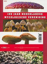 Paesi Bassi - 2008 marchi di prestigio LIBRETTO MH nº 22 Mykologische V. funghi MH 76 **