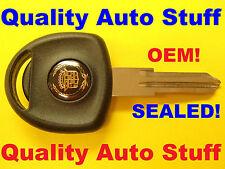 SEALED OEM GM 1997 - 2001 Cadillac Logo Catera Transponder Key Blank P/N 9120300
