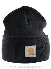 Carhartt ACRYLIC WATCH HAT Mütze, dunkelgrau meliert, charcoal, Cap, Beanie, A18