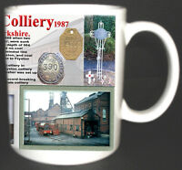 WHELDALE COLLIERY COAL MINE MUG LIMITED EDITION GIFT MINERS YORKSHIRE PIT