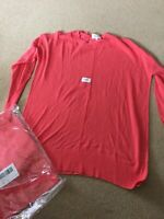 BNWT - NIZZIN Women's Thin Knit Jumper Pink Size Medium UK 12/14