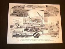 Rarissima Spedizione Gess e Matteucci in Africa nel 1877 Nilo Mayaggah Madum
