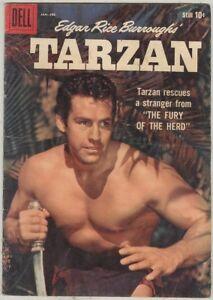 Tarzan #110 January 1959 VG Last Photo Cover