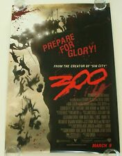 300 FRANK MILLER 27X40 DS MOVIE POSTER ONE SHEET NEW AUTHENTIC