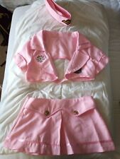 Ann Summers style sexy air hostess fancy dress costumes pink women size 6 size 8
