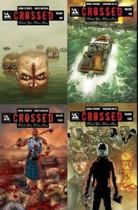 Crossed Wish You Were Here Hardcover Set GN Si Spurrier Burrows 1 2 3 4 New NM