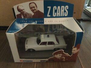 CORGI Z CARS FORD ZEPHYR 6 MK111 00502 BOXED 2000 DIE CAST VEHICLE