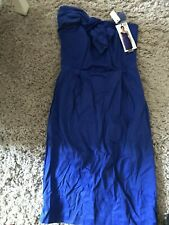 Blue Fitted Party Corset Dress 8