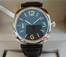 Parnis no LOGO Mechanical Hand-winding Men's watch SEA-GULL ST3600 Movement