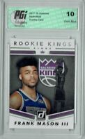 Frank Mason III 2017 Donruss #28 Rookie Kings SP Rookie Card PGI 10