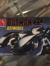 Amt Ertl 1989 Batman Batmobile 1:25 Scale Model Kit #6877