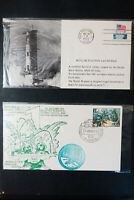 US Early Unsearched Space Program Stamp Covers Collection