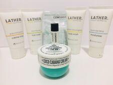 Sol de Janeiro Coco Cabana Cream 25mL+4 Lather Travel Set+2 Cowshed Lip balm-New