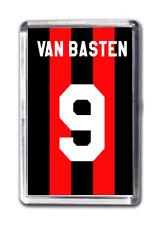 Van Basten Number 9 Fridge Magnet Football Shirt Italian Football Inspired