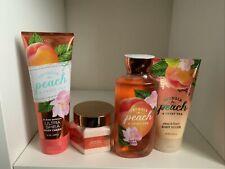 Bbw Georgia Peach and Sweet Tea Body Cream + Shower Gel, Scrub And Body Soufflé