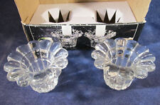 Pair of Forever Crystal Taper Candle/Votive Holders Style 315160