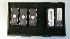 3 x m27128 e 2 x m27c1001 EPROM da fa. ST