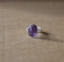 Amethyst Handmade Natural Fine Rings