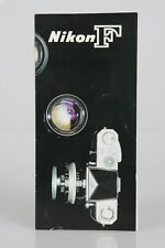 Vintage 1963 Nikon F Camera System with FTN Announcement Insert Brochure 15 pgs