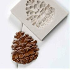 Silicone Christmas Pine Nut Fondant Cake Sugarcraft Mould Chocolate Baking Mold