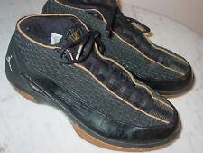 2008 Nike Air Jordan Retro 15 SE Black Metallic Silver Gold Shoes! Size 39977685f