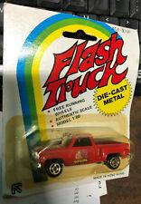 Nip Vintage Bedford Flash Die Cast 1:60 scale, Red Apache Truck; Fast S&H