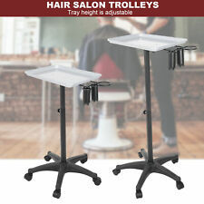 Mobile Stand Trolley Salon Equipment Rolling Adjustable Hair Salon Beauty Cart