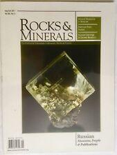 rocks and minerals magazine